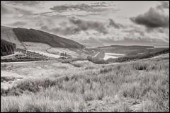 Gwaun Nantt Ddu and Cantref Reservoir