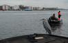 Fishermen (Jorden Esser) Tags: amsterdam amsterdamcswaterland1 groenewissel ijriver ferry fishermen fishing heron hike nederlandvandaag