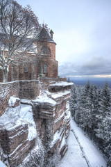 Mont Sainte Odile, Alsace, F (Bruno MATHIOT) Tags: alsace france french neige outdoor snow 760d canon sigma 1020 hdr