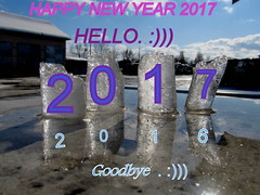 Let every day in 2017 brings into your life  joy, health, smiles and good luck. :)))))))))))) (halina.reshetova) Tags: newyear newyear2017 holiday happiness joy gladness goodluck prosperity health wishes winter winterseason mozyr belarus canon canonpowershotsx130is 20022012 31122016 visualart