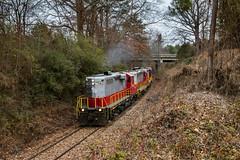 Geeps for Lunch (Kyle Yunker) Tags: georgia northeastern gnrr train gp10 emd
