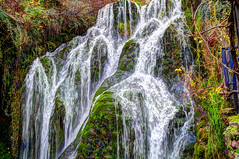 Cascada (JVicenteRD) Tags: agua musgo otoño rio color