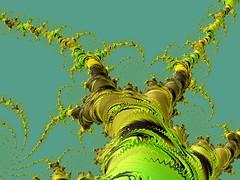 Jack's Beanstalk (BKHagar *Kim*) Tags: bkhagar fractal fraxhd mathematical algorithm formula graphic generated math