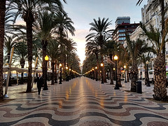 Explanada España, Alicante (Meino NL) Tags: explanadaespaña alicante boulevardlaexplanada costablanca provincievalencia spain spanje españa