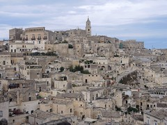 Italy (Matera) Well-reserved rock-cut settlements that are a World Heritage Site