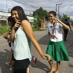 All Smiles (Beegee49) Tags: students young ladies filipina laughing smiling city of smiles bacolod philippines