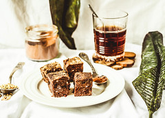 raw brownie with figs and green buckwheat, vegan diet (harmonyandtaste) Tags: autumn background board brown brownie brownies cake chocolate cleaneating cleaneatingvefocus cocoa coffee cup cut delicious dessert fall food gojiberry gourmet healthy homemade natural piece pine plantbaseddiet rack raw seed slice snack sweet sweets tasty tea time vegan vegetarian walnut white winter wooden