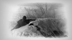 74-Й ГОДОВЩИНЕ ОСВОБОЖДЕНИЯ ВОРОНЕЖА ПОСВЯЩАЕТСЯ!....... (Alex-Bell) Tags: country russia city voronezh soldiers soldier soldiery war snow art area army old photo picture an from россия страна город воронеж реконструкция бой сражение война солдат солдаты винтовка снег съемка каска стрельба
