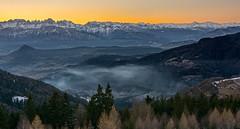 Sunset on Brenta Group (Johann Glaes Photography) Tags: dolomiti dolomites brenta sunset coucher soleil levico terme trentino alto adige