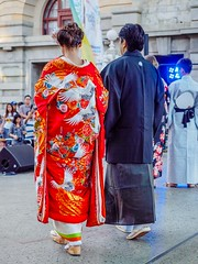 Perth Kimono Club at the Japan Festival Perth 2015