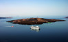 Santorini island, Greece (panoround hutter) Tags: voyage travel meer mare sunsets santorini greece caldera griechenland smörgåsbord hutter hutterdesign