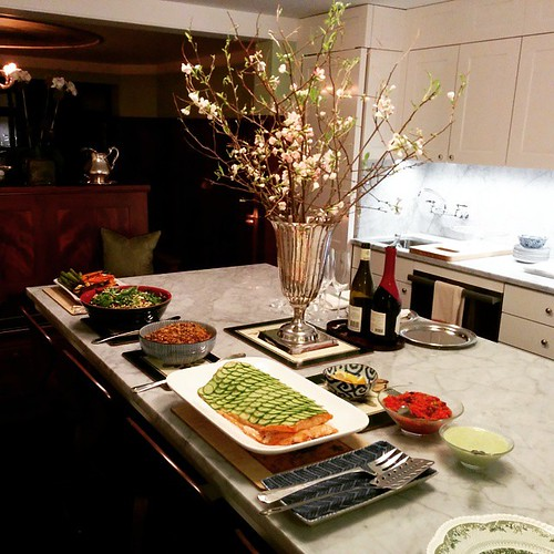 #DinnerWithFriends #buffet #uppereastside