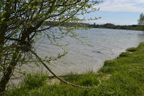 Saint-Blancard. Le lac de la Gimone