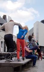Flustcke015 - -_MG_8662 (thomesy) Tags: deutschland europa kunst tanz nordrheinwestfalen mnster mnsterland stadtbcherei deugermany nrwnordrheinwestfalen srasenkunst flurstcke015 chelyabinskcontemporarydancetheater miniaturesformuenster