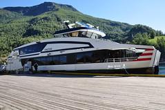 Ekspresowa łódź do Bergen | Express boat to Bergen