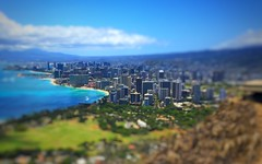 Honolulu from Diamond Head (thedatadepot) Tags: honolulu mostlysunny