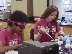 BLUE8826 (David J. Thomas) Tags: summer students science highschool research math arkansas biology speleology batesville upwardbound lyoncollege ubms biospeleology