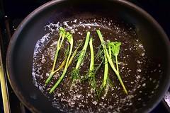 Fennel in Butter (jjldickinson) Tags: food cooking longbeach butter pan wrigley fennel anise sauté sautépan nikond3300 promaster52mmdigitalhdprotectionfilter 100d3300 nikon1855mmf3556gvriiafsdxnikkor