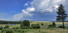 Before the storm (acase1968) Tags: ranch blue sky clouds oregon lens ed nikon d750 nikkor cloudporn vr beatty rooney afs shields partly thunderstorms stormwatch f4g 24120mm