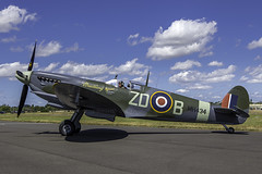 Spitfire, MH434, Royal International Air Tattoo RIAT 2015, RAF Fairford