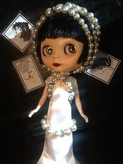 Blythe-a-Day August #25 Screen & #30 Movie Night: LaVern La Rue's Silver Screen Adventures