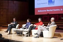 Dr Rufus Black, Tania de Jong AM, Charles Kovess & Peter Kronborg