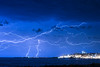 [0988] Boom !!! Storm over Montevideo (Ojo Torpe) Tags: uruguay montevideo storm lightning night riodelaplata nature forcesofnature electricity