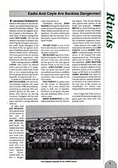 Hibernian vs Clydebank - 1989 - Page 9 (The Sky Strikers) Tags: hibernian hibs clydebank skol cup road to hampden easter matchday magazine one pound