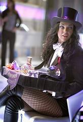 "Zatanna (Serinda Swan) on the CW TV series ""Smallville"" (sabrebiade) Tags: zatanna dc dccomics superhero superheroine sexy hot beautiful fishnets"