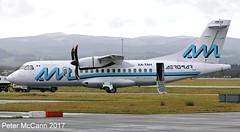 XA-TAH ATR 42 Glasgow Feb 2017 (pmccann54) Tags: xatah atr42500 aeromar