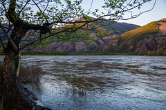 Spring on Indigirka River (vikalga) Tags: canon6d expedition2016 landscape spring mountain river sky tree экспедиция2016 горы дерево индигирка небо