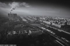 Paris Steam (scott calnon) Tags: paris city europe france eiffel tower steam industry factory mist mono atmospheric landscape cityscape beautiful seine river tour captital capital explored explore