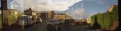 Kodak Brownie 127 - down road (Nicole Longmore) Tags: kodak brownie 127 double exposure appley bridge lancashire 35mm film