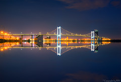 Mirror... A very big mirror (R1M Photo-Taker) Tags: reflection landscape nightlandscape brigde longexposure mirror