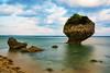 沖縄 知念岬 (Mori.Kei) Tags: 沖縄 知念岬 okinawa japan 岩 locks 雲 cloud 海 ocean sea blue 砂浜 リフエクション 緑 green 空 sky