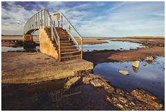 Bridge to Nowhere, Dunbar-4 (Gordon_Farquhar) Tags: dunbar west barns beach lothian ness lighthouse torness power station scotland scottish east coast