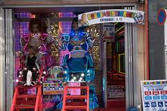 Robot Restaurant (Dominic Sagar) Tags: 2016 danielle fujifilm japan restaurant t050 t100 t200 xt1 robot sign shinjukuku tōkyōto jp
