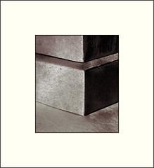 Foundation (Bob R.L. Evans) Tags: blocks ipadphotography minimalism shadow strength symbol