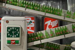 7up time (radargeek) Tags: drpepper museum waco tx texas 7up clock vintage bottle