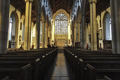 Church Vanishing Point [32/365 2017] (steven.kemp) Tags: norwich st peter mancroft church symmetry vanishing point