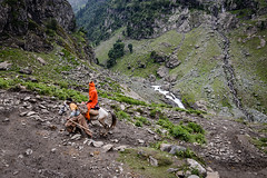 Pilgrimage to the Amarnath Cave (Leonid Plotkin) Tags: india mountain mountains religious asia traditional religion devotion kashmir tradition himalaya spiritual hindu hinduism amarnath pilgrimage pilgrim pilgrims amarnathyatra