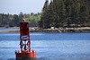 Red Buoy off Warren Island (MaineIslandGirl) Tags: ferry island bay crossing maine atlantic warren navigation buoy penobscot islesboro