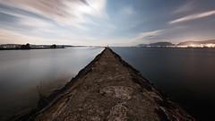 Il a fait jour toute la nuit... (prenzlauerberg) Tags: lake nature night landscape nikon lac ciel dxo paysage extrieur nuit neuchatel 2015 lacdeneuchtel nikoncapturenx nikond610