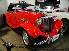 1953 MG TD Roadster '6aOS914' Top up 2 (Jack Snell - Thanks for over 26 Million Views) Tags: mg 1953 roadster td 6aos914