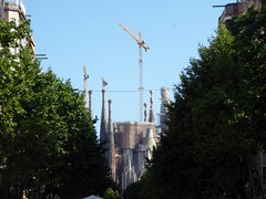 Gaudi's Sagrada Familia - Barcelona (ashabot) Tags: barcelona street travel architecture spain gothic cities artnouveau gaudi fantasmagoria sagradafamília worldheritagesites seetheworld worldcities