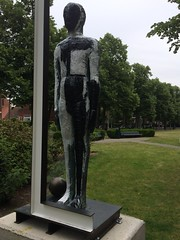 painted bronze Untitled - Mimmo Paladino (JANKUIT) Tags: amsterdam bronze painted untitled mimmo paladino 2015 artzuid