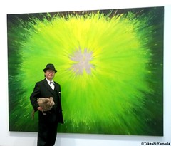 Dr. Takeshi Yamada and Seara (sea rabbit) at the Chelsea art gallery district in Manhattan, NY on October 7, 2014.  20141007 006=C (searabbits23) Tags: ny newyork sexy celebrity art hat fashion animal brooklyn painting asian coneyisland japanese star costume tv google chelsea king artist gallery dragon god cosplay manhattan wildlife famous gothic goth performance pop taxidermy cnn tuxedo bikini tophat unitednations playboy entertainer takeshi samurai genius mermaid amc johnnydepp mardigras salvadordali unicorn billclinton billgates aol vangogh curiosities sideshow jeffkoons globalwarming takashimurakami pablopicasso steampunk yamada damienhirst cryptozoology freakshow barackobama seara immortalized takeshiyamada museumofworldwonders roguetaxidermy searabbit ladygaga climategate minnesotaassociationofroguetaxidermists