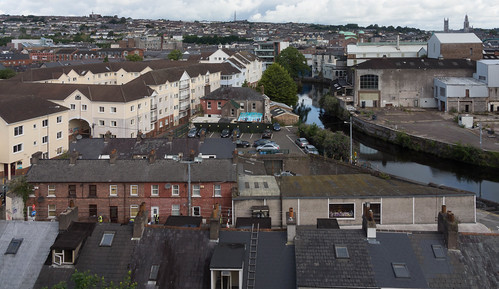 VIEWS OF THE CITY FROM THE WALLS OF ELIZABETH FORT [CORK] REF-106658