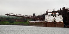 Mesabi Miner (rexp2) Tags: industry boat ship greatlakes smokestack lakesuperior laker freighter selfunloading nikkor100300mmf56ais atbarticulatedtugbarge sonyalpha7rilce7ra7r sony0mmf00 vacation2015spring