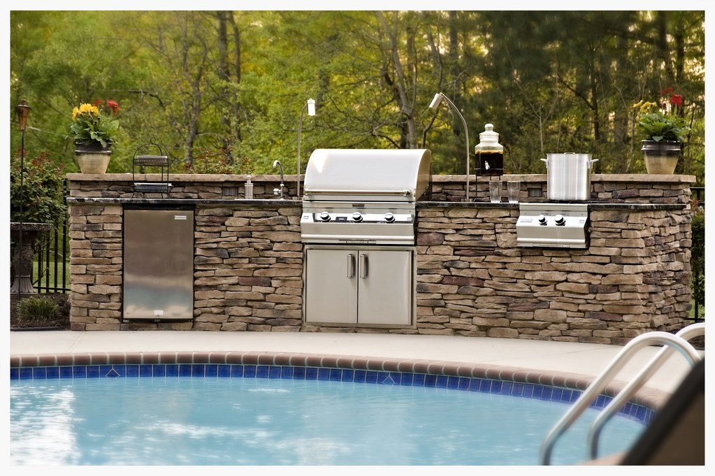 Custom Fire Magic Outdoor Kitchen, Apison, TN
